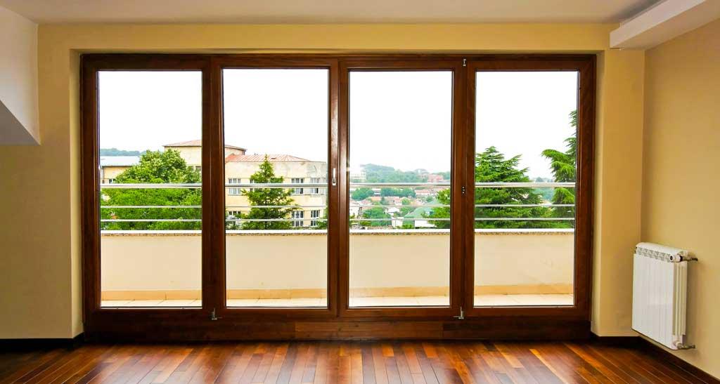 Portefinestre in legno falegnameria adda - Porte finestre legno ...