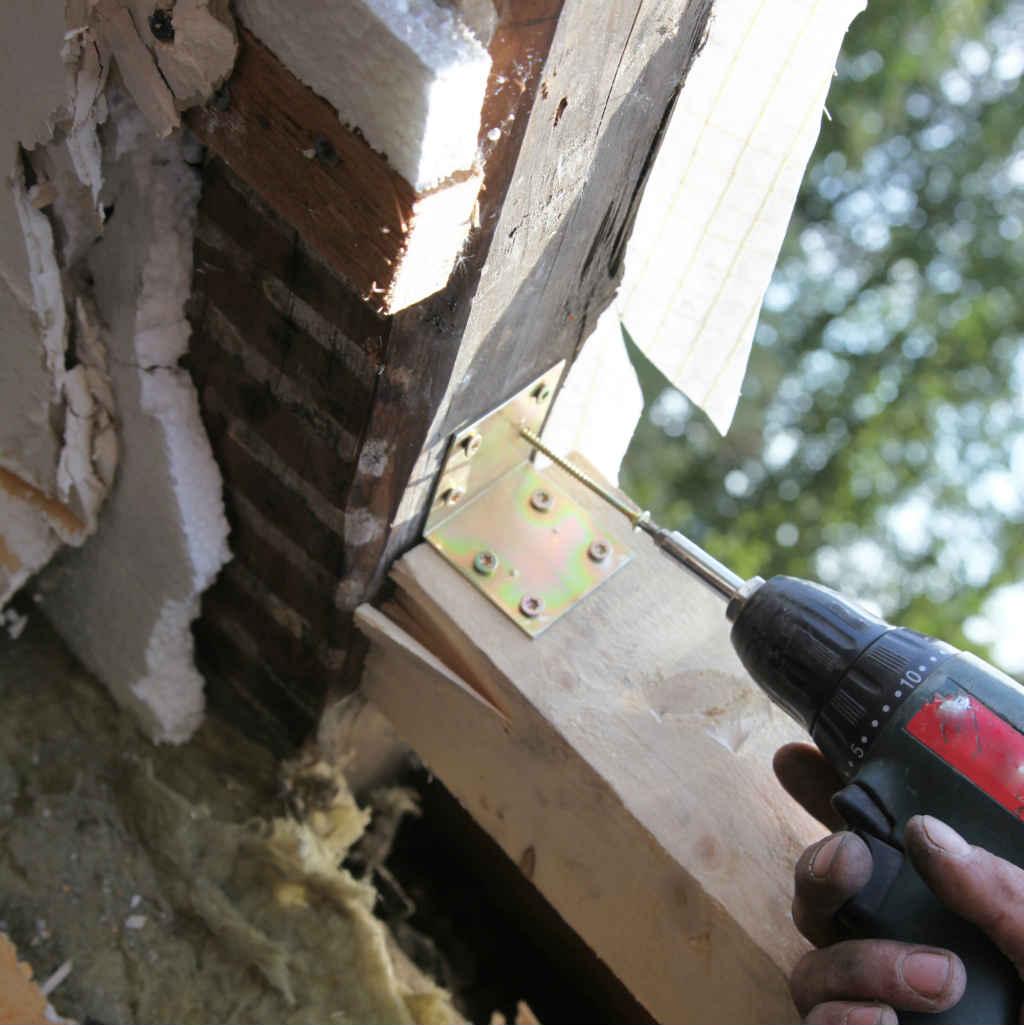 Un 39 ottima finestra inizia dal controtelaio in legno - Restauro finestre in legno prezzi ...