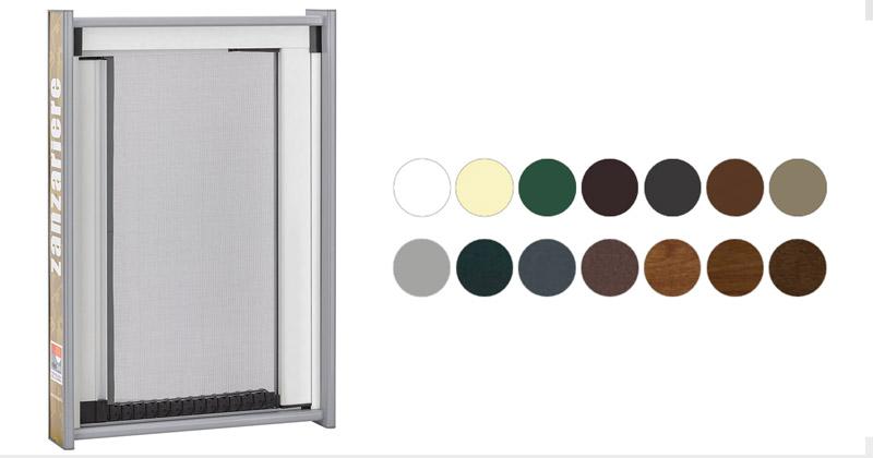 Zanzariere dua colorazioni disponibili